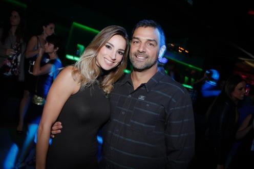Gabriela Sayago e Cesar Pelucio