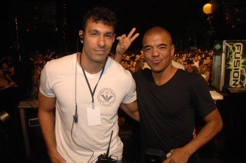 Kadu Rachid e Erick Morillo
