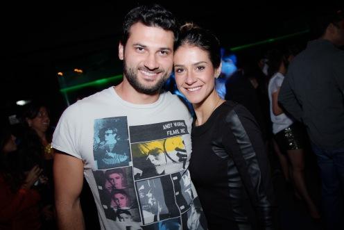 Leonardo Ceron e Julianna Mota