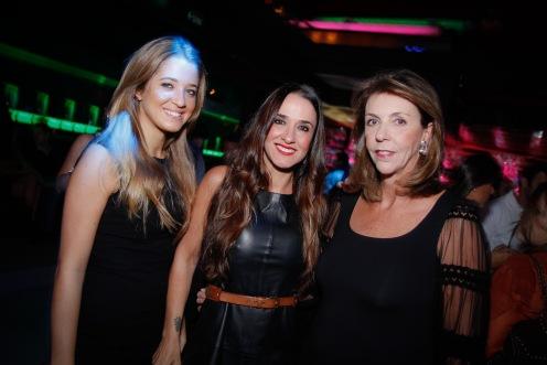 Marcella Minelli, Vera Minelli e Ana Maria Velloso,