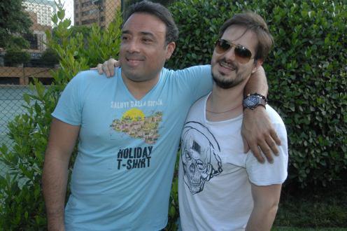 Marco Antonio Prado e Arthur Ribeiro