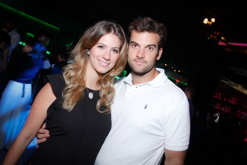 Patricia Machado e Joao Bordon