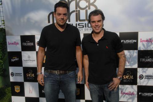 Ricardo Bataglia e Marcelo Romero