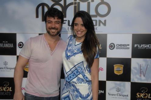Ricardo Simìes e Hedla Lopes