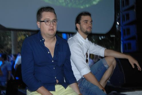 DJs Rodrigo Thomaz & Emmanuel Rocha