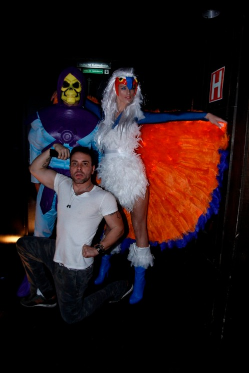 Flavia Lucini e Leandro Lima com Matheus Mazzafera 3724
