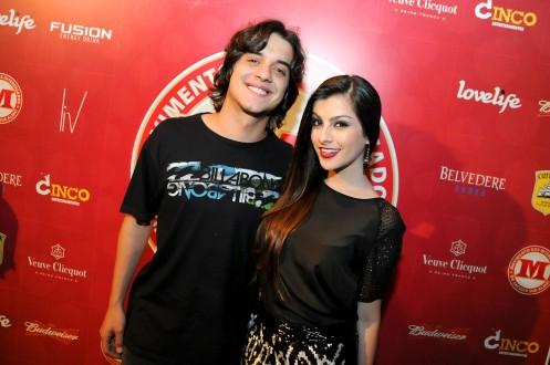 Guilherme Boury e Nah Cardoso