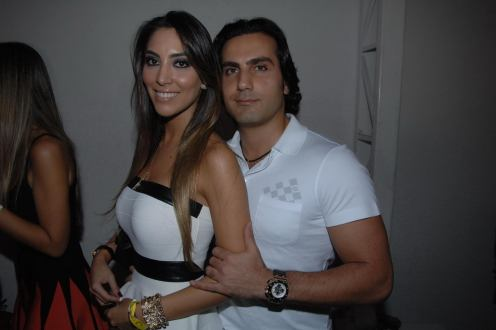 Juliana Romano e Abdul Fares