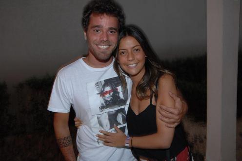 Marcelo Mello e Betina Leme