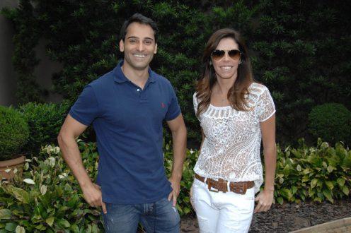 Omar Maluf e Gabriela De Luca