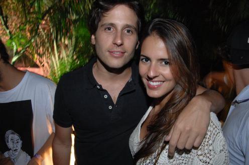 Rafael Rodas e Mariana Jacinto