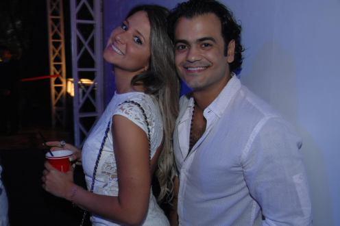 Samantha Telles e Kamal Soueid