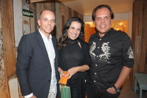 Bruno Amorim, Ana Arsky e George Zardo