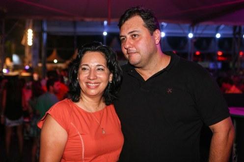 Cópia de SL5C8085 A prefeita do Guarujá, Maria Antonieta de Brito e o marido Flavio Lopes