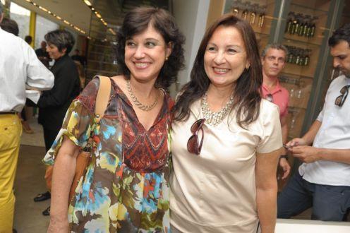 Claudia Viana e Lucia Navajas