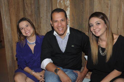 Danielle Paes Barreto, Saulo Barros e Lucianna Pimentel