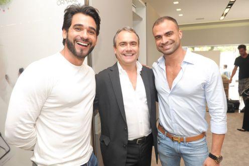 Marlon Gama, Daniel Andrade e Flavio Moura