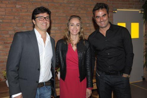 Sanderson Porto, Ana Paula de Castro e Leo Romano
