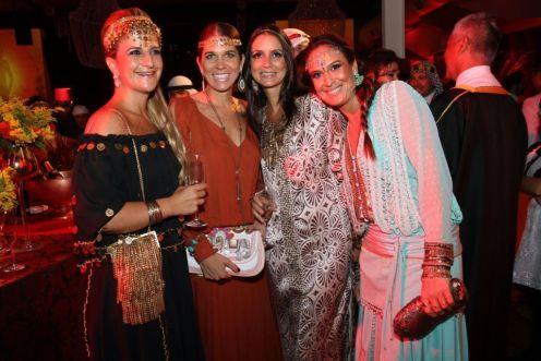 Flavia Kujawski, Luciana Gianella, Maria Pernet e EvaBichucher