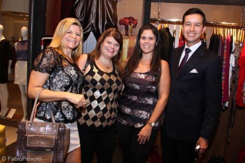 Jaqueline Miguez, Fernanda Lebram,Vanessa Abdalla e SamuelQueiroz Junior