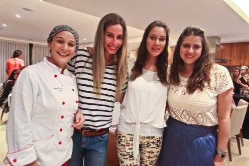 Juliana Petrone Mariana Weickert, Julie Montgomery e Natasha Kayat