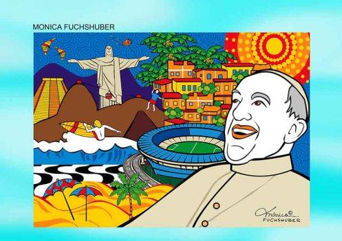 O Papa Sorriu - Mônica Fuchshuber