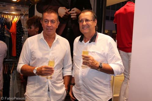 Os empresários Claudio Lorenzetti e Mario Monteiro