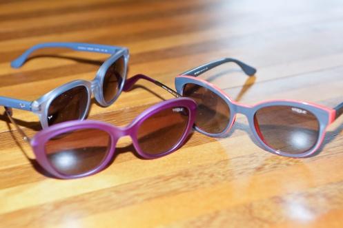 Design dos novos óculos Vogue Eyewear