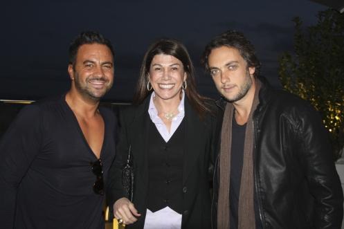DJ Hugo Tabaco, Alicinha Cavalcanti e Andre Sada