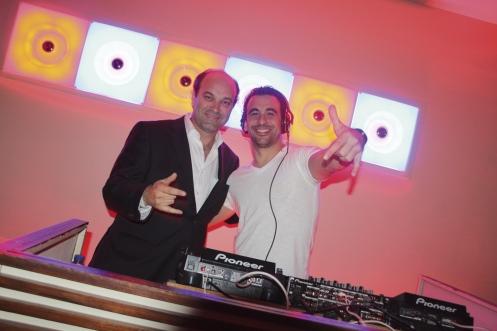 Pedro Ribeiro e DJ Raul Calddeira