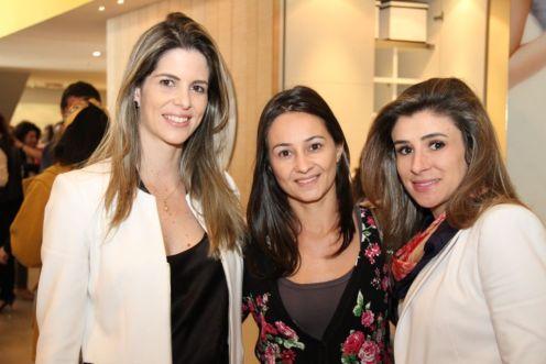 Amanda Ferreira, Adriana Pelloni e Priscila Machado