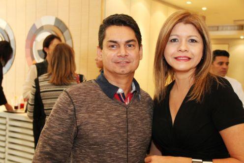 André Martins e Soraya Brix