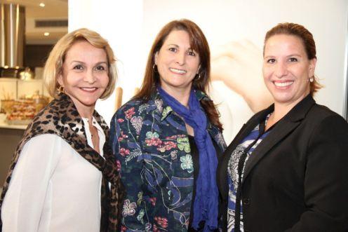 Angela Araujo, Janete Rocha e Milena Mainardi