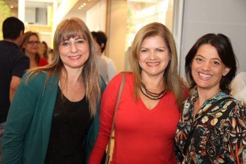 Betania Lima, Joana Araujo e Carolina Lancelle