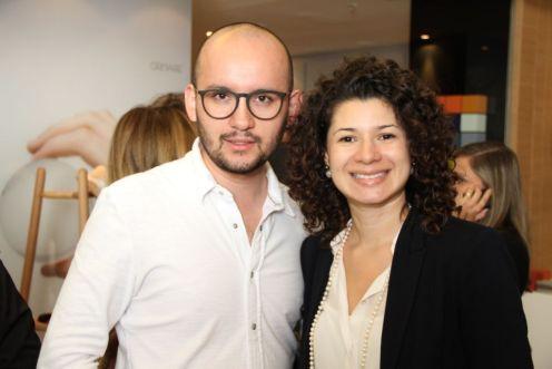 Eduardo Sainz e Ludymilla Aires