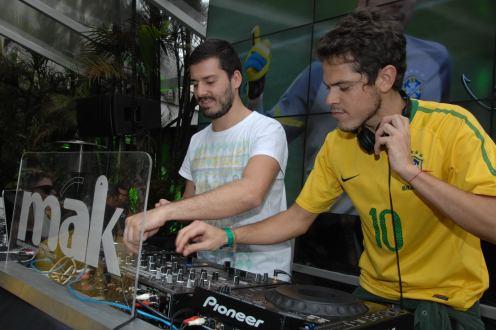 Gabriel Salvia e Ivan Arcuschin