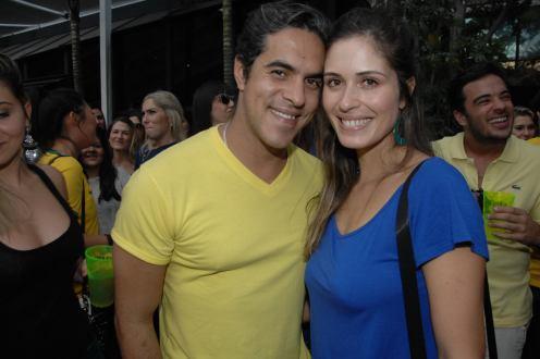 Kiko Sobrinho e Olivia Soares