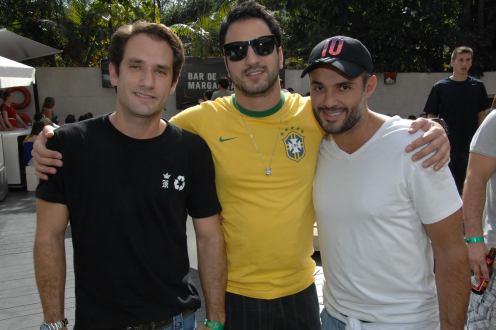 Neto Pisaneschi, Ze Ricardo Viana e Abdo Barakat