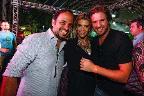 Felipe Aversa, Luisa Almeida e Ricardinho Goldfarb