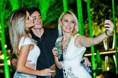 Renata Schiavinato, Bernardo Guimaraes e Natalia Penariol