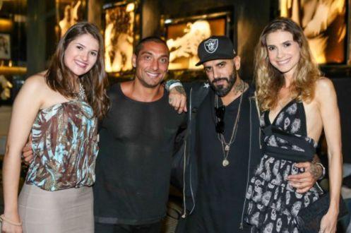Carla Oliveira e Zark Fatah e Tito e Aline Medeiros