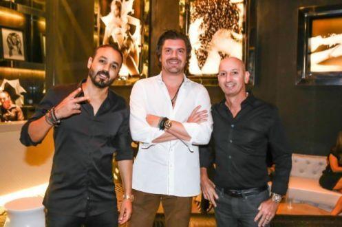 Roger Rodrigues, Augusto Cruz neto e Aroldo Cruz Lima