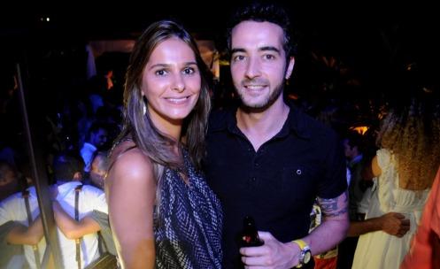 Alexandra Pires e Rafael Miranda