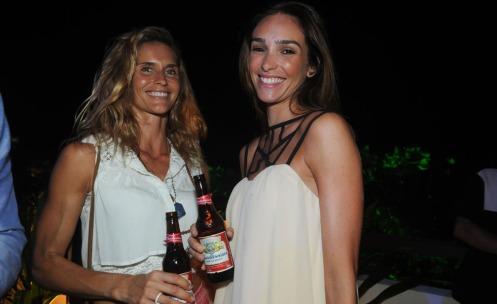 Aline Fernandes e Lilia Perone