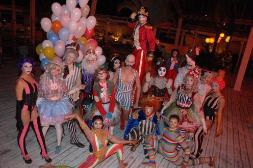 Atores do tema Circus