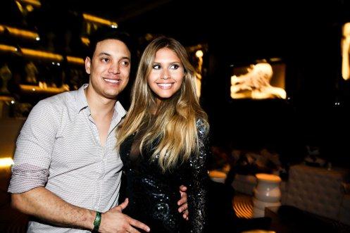 Cleiton Santana e Gabriele Marinho