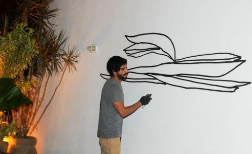 Grafite na Casa Glamurama
