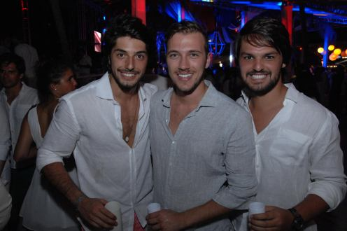 Enrico Celico, Luiz Restiffe e Juliano Libman 2
