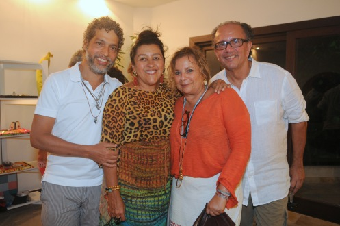Estevao Ciavatta, Regina Casé, Joyce Pascowitch e David Bastos