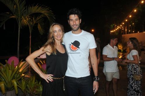 Hazel Fischdick e Daniel Del Sarto